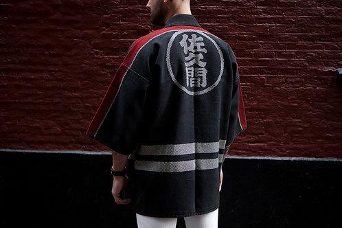 Japanese Sashiko Firefighter Coat