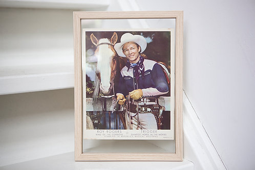 1940s Roy Rogers Promo Poster