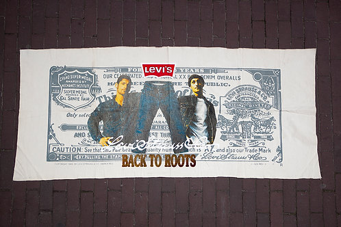 Levi's Guarantee Ticket Banner
