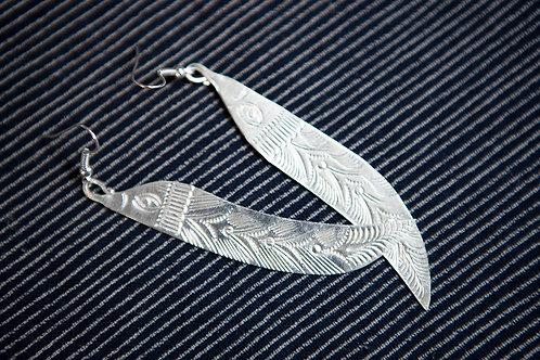 Handmade Asian Tribal Earring