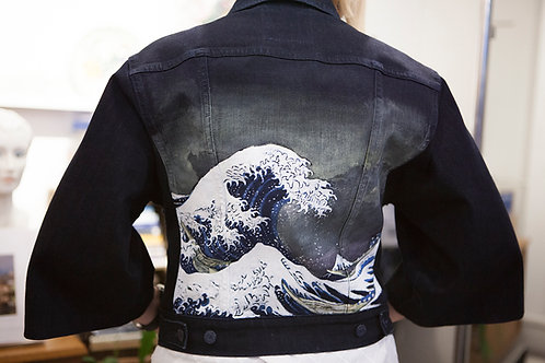 Levi's Handpainted Denim Kimono