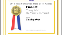 Starting Over - Finalist, 2019 Next Generation Indie Book Awards