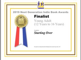 Starting Over - Finalist, 2019 Next Generation Indie Book Awards
