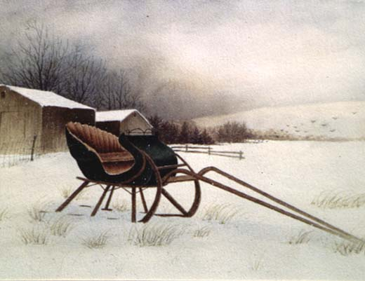 Study: Winter Sleigh