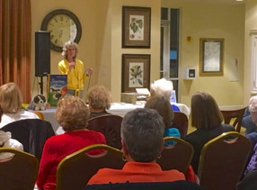 On February 27th, Sheri shared her novels with a wonderful crowd at Sun City, Okatie,S.C.