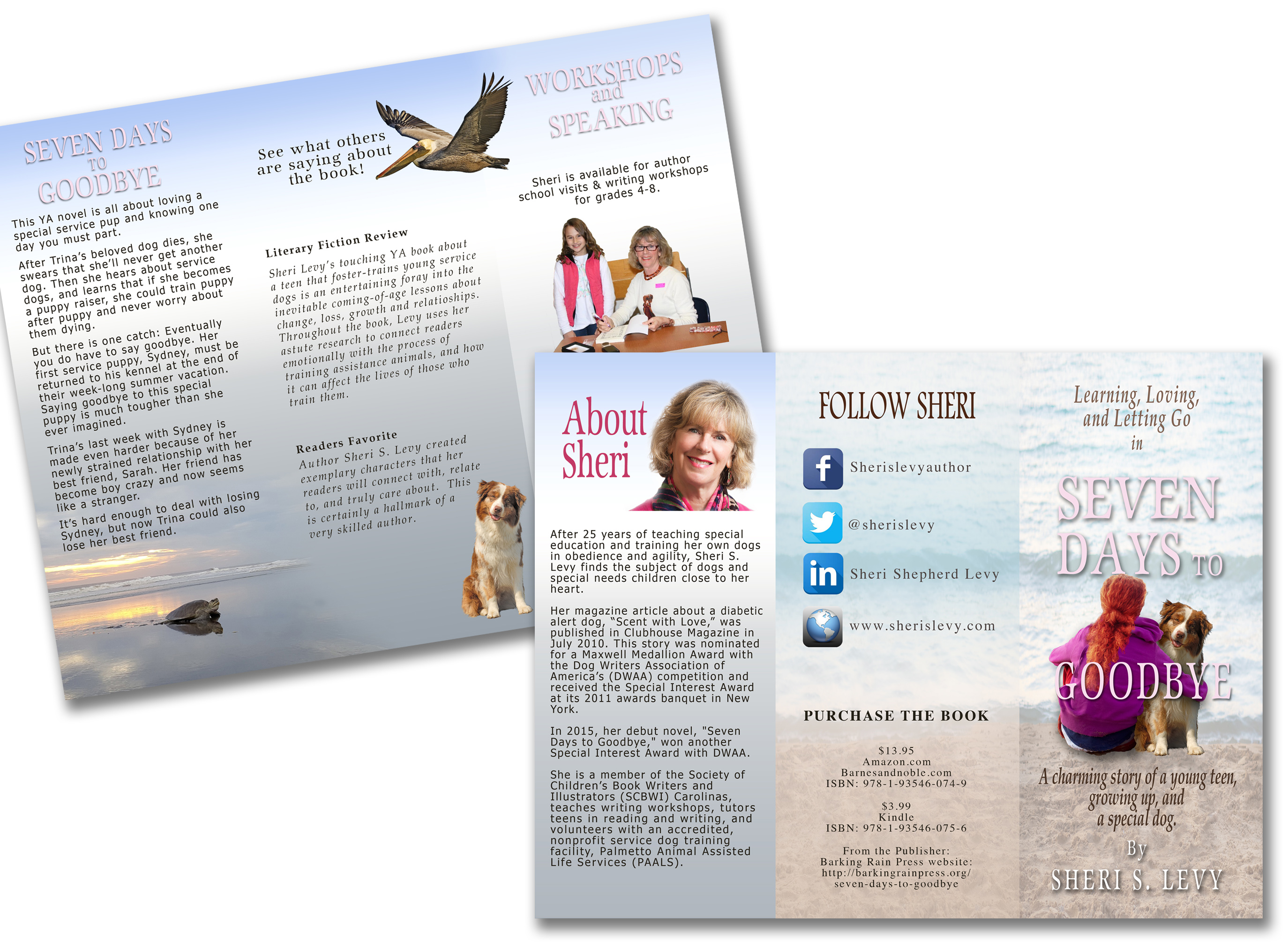 Brochure for author
