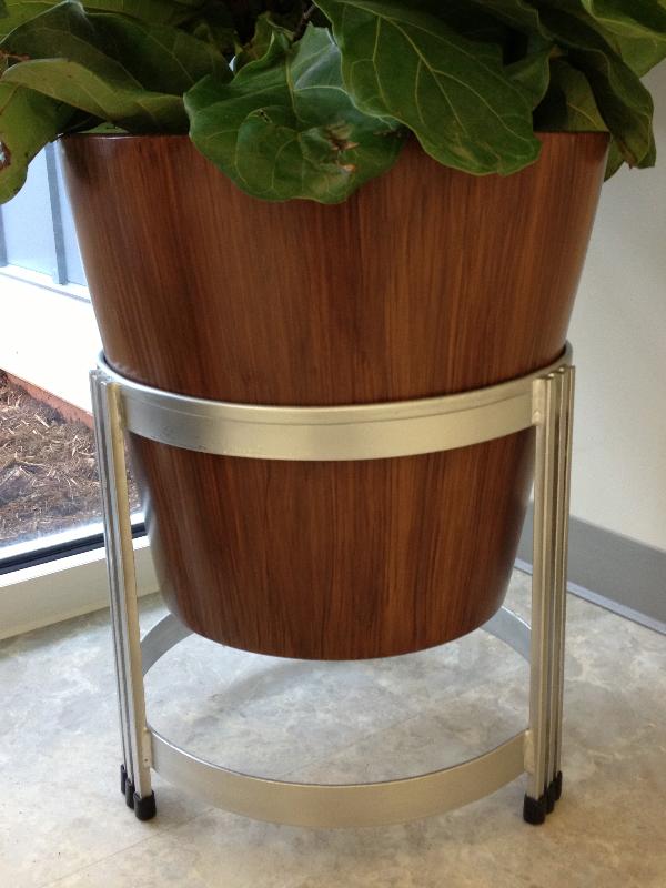Wooden Faux Vase