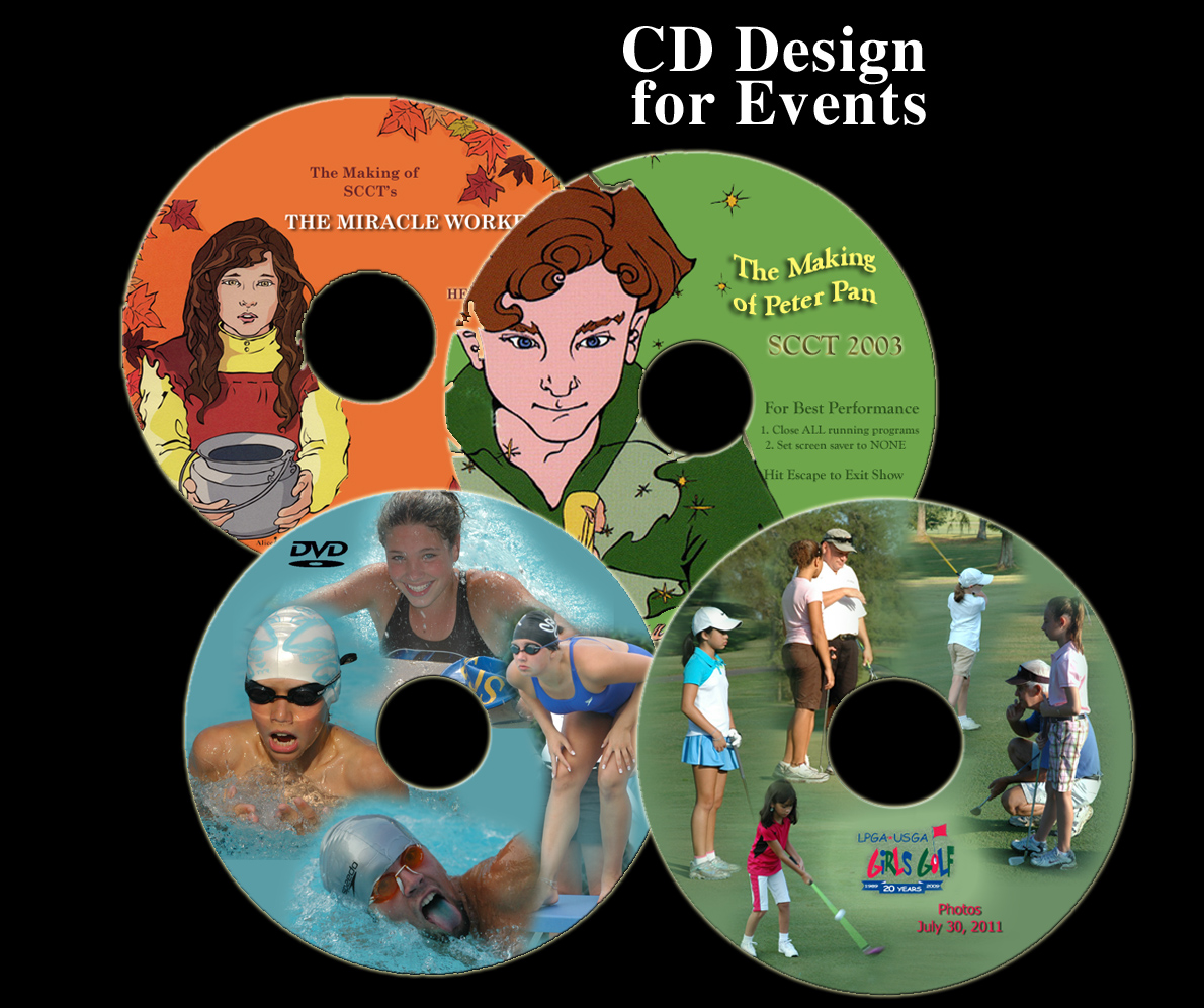 CD design and printing