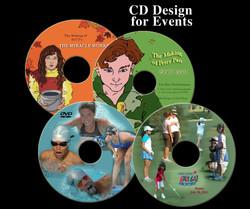 CD design and printing