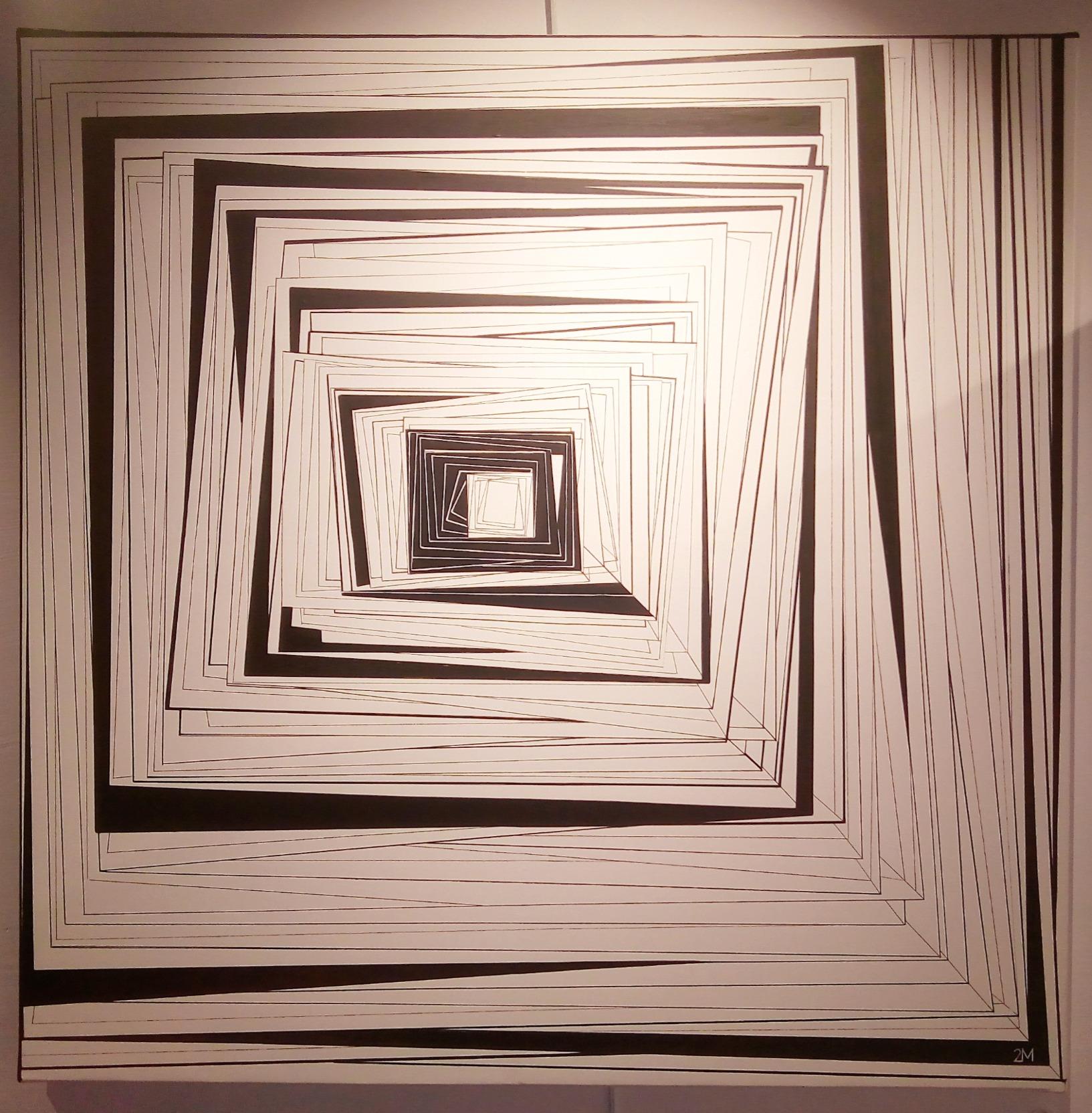 Intrication Noir et Blanc