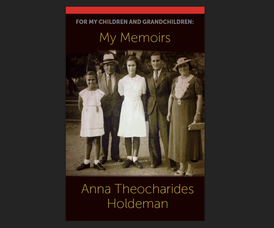 My Memoirs, by Anna Holdeman