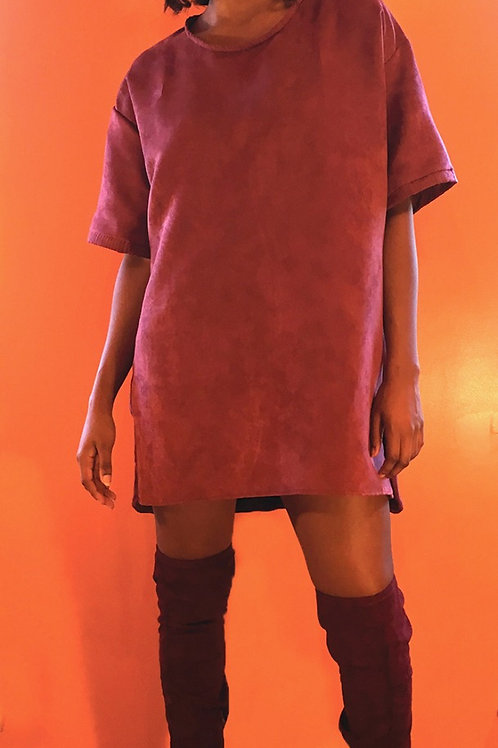Marigold Over Size T-Shirt Dress