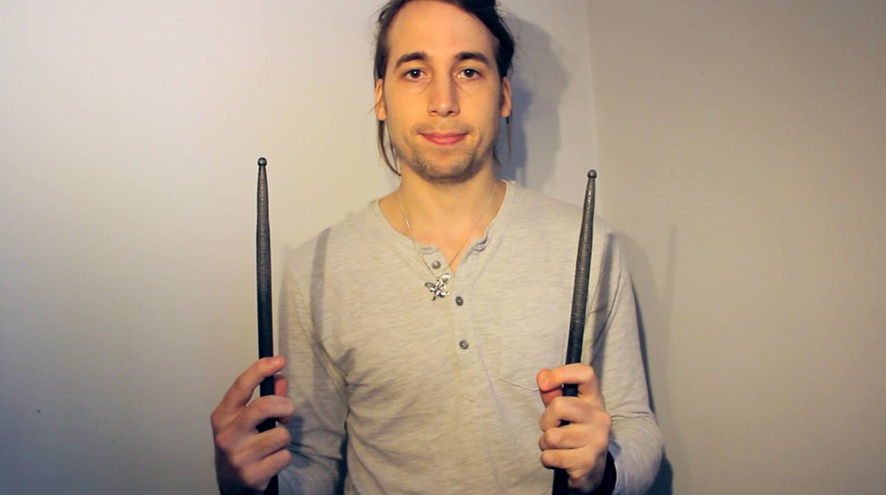 Drum Rudiment #1 - The Single Stroke Roll