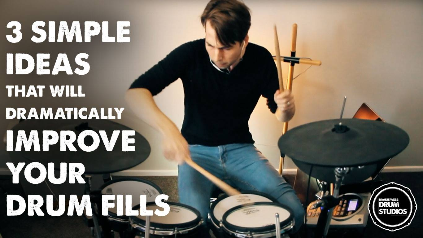 3 Simple Ideas That Will Dramatically Improve Your Drum Fills