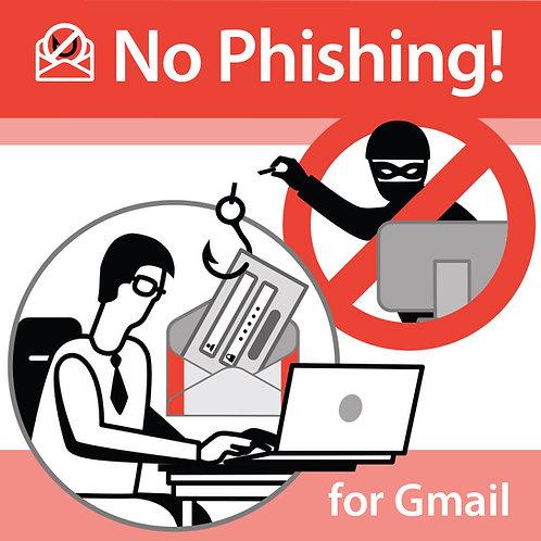No Phishing - 1 Year Subscription