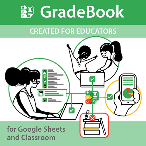 GradeBook for Google Sheets and Classroom