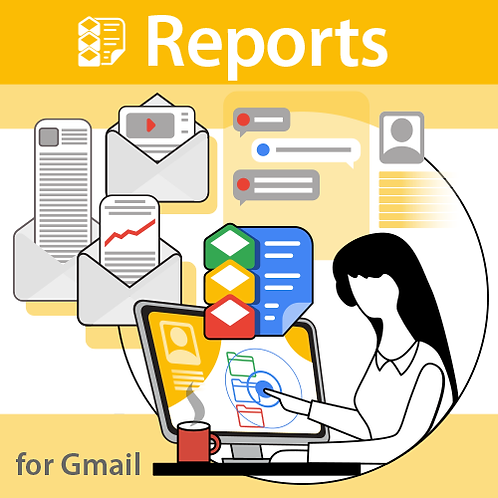 Reports for Gmail - 1 Year Subscription