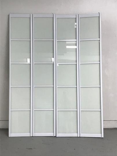 Peinture, Portes intérieures, Aluminium, Couleur: Blanc