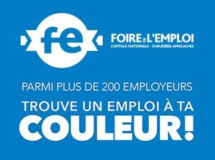 Foire de l'emploi - Capital nationale et Chaudière-Appalaches