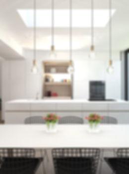 M-INT interieurarchitectuur inrichting rijwoning - keuken