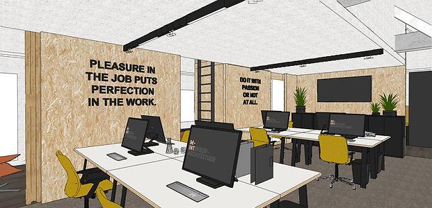 M-INT inteieurarchitectuur kantoorinrichting coworking