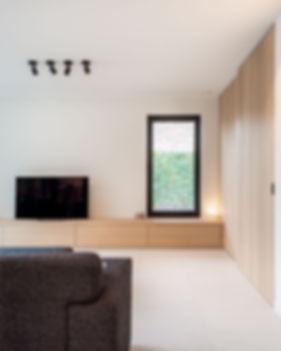 M-INT interieurarchitectuur - inrichting woonkamer - Zwevegem