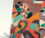 Brick Building Graffiti