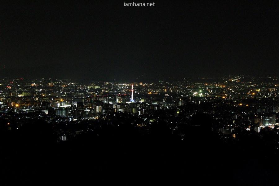 Kyoto's Night view