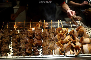 Arrived at Hongkong, eating and eating!: Pierre Herme (IFC Mall), grilled skewers, Pret a manger and
