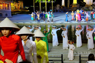 Hoian Memories show, You can see the beautiful Hoian! ( Hoian Impression Theme Park)