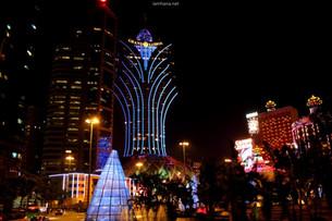 Macau's night view was spectacular - Macau's Open Top Bus Night Tour