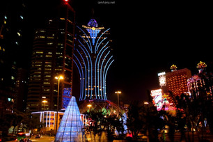 Macau's night view was spectacular - Macau's Open Top Bus Night Tour
