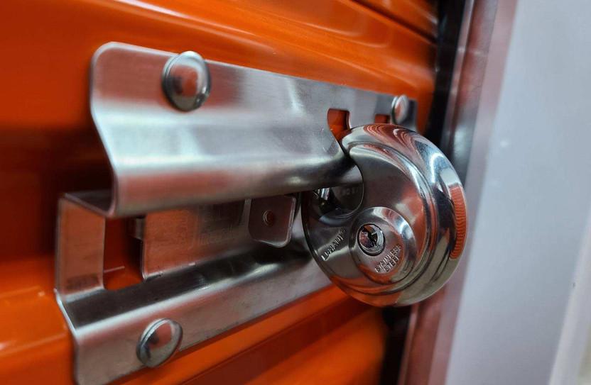 commercial garage door lock