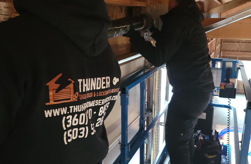 commercial garage door spring replacemen