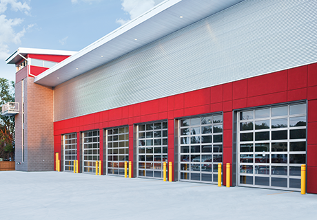 Full View Commercial Garage Door Installation | Portland, OR