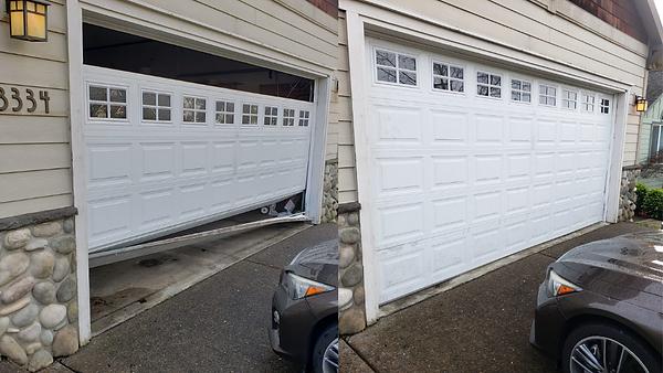 Emergency Garage Door Off Track Repair | Vancouver, WA