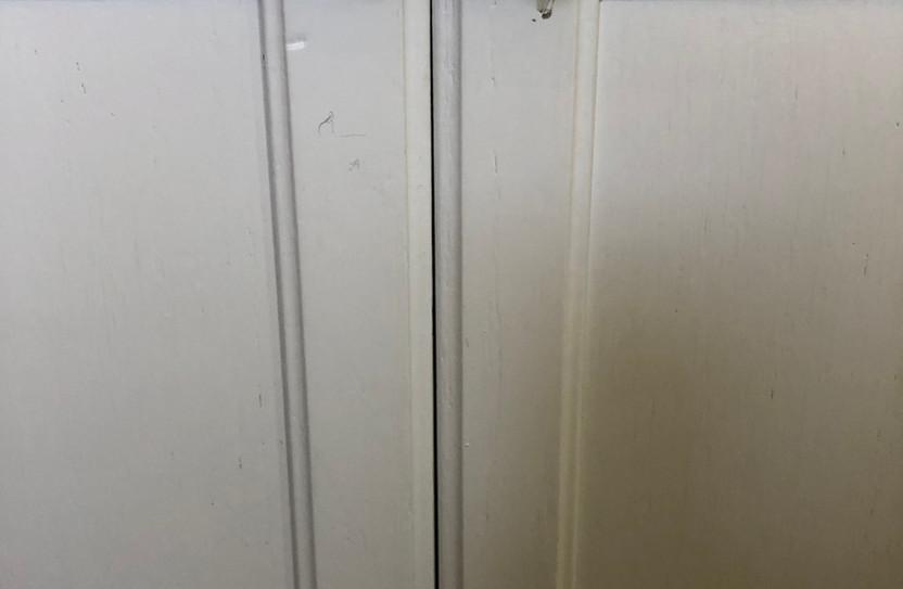 Cabinet lock installation