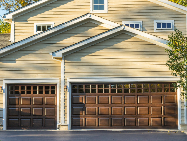 overhead electric garage door installati