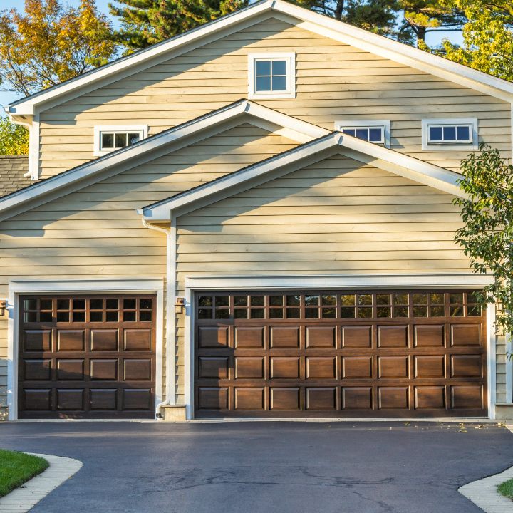 overhead electric garage door installati