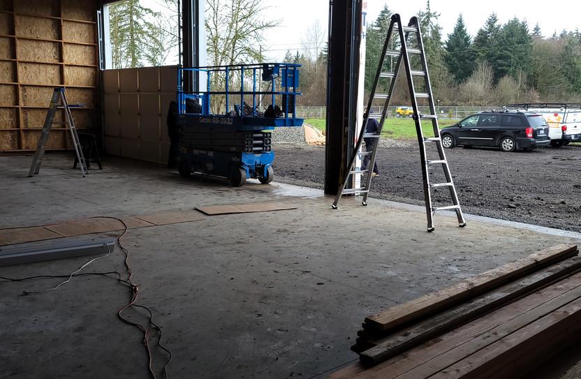 garage door installation in Ridgefield W