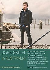 John Smith Tour Poster