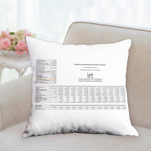 "Amazon Valuation Pillow 18"" x 18"""
