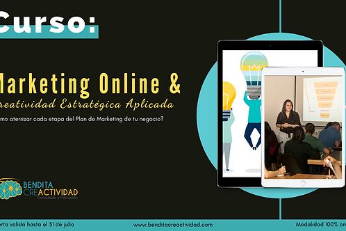 Curso de Marketing Online y Creatividad Estratégica Aplicada