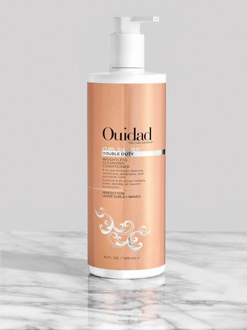 Curl Shaper Double Duty Weightless Cleansing Conditioner