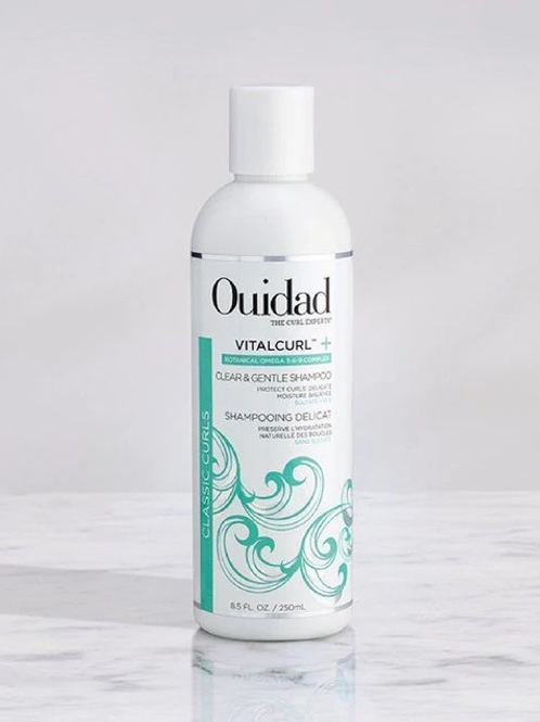 Vitalcurl + Clear & Gentle Shampoo 8oz