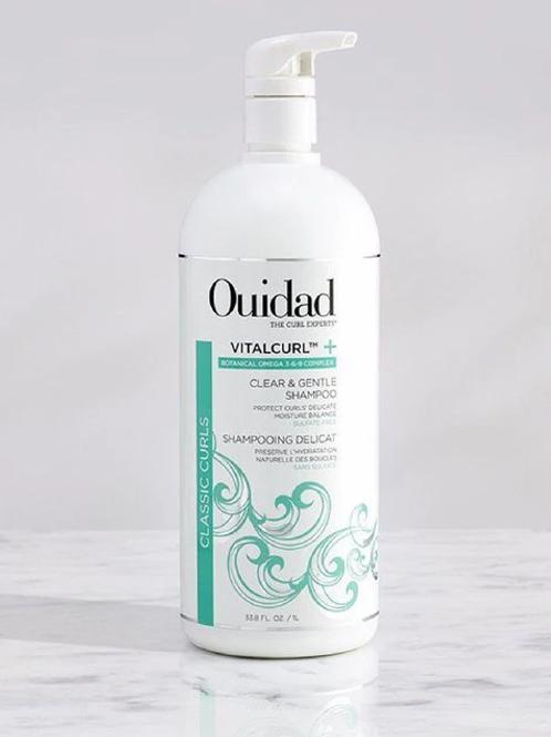 Vitalcurl + Clear & Gentle Shampoo 33oz