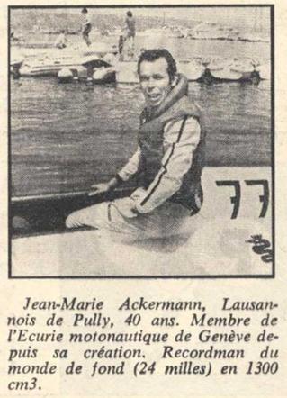 Ackerman record mondial
