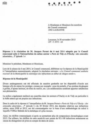 Commission des ports décembre 2015