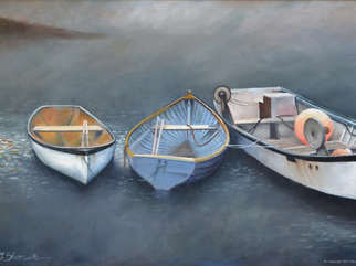 Three Boats in the Mist