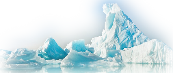 blue & green iceberg